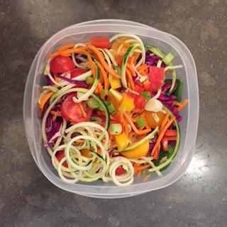 Balsamic Basil Vinaigrette Salad