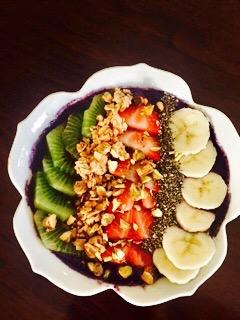 Blueberry Acai Smoothie  Bowl