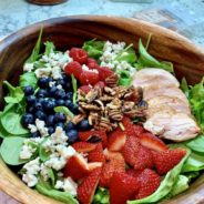 Kristi's Red, White and Blueberry Salad